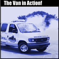 Van in Action